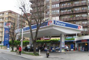 Algorta zona gasolinera